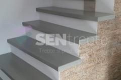 Trepte placate cu lemn