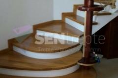 Trepte interior cu balustrada fier 4