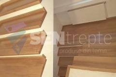 Scara interioara lemn 2