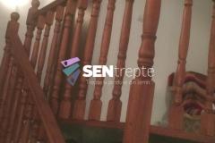 Balustrada cu stalpi din lemn 3