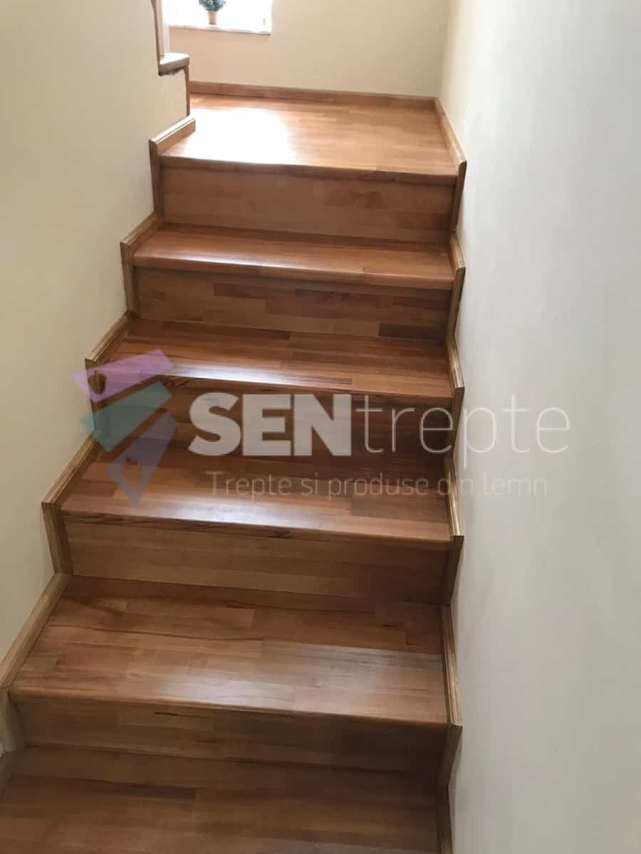 scara interior din lemn dreapta