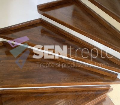 Scara bicolora fara balustrada5